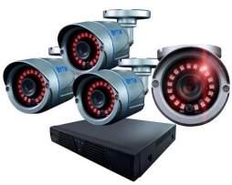 Kit Cctv 4 Camaras Ahd 2.0 Mp / 2800 Tvl