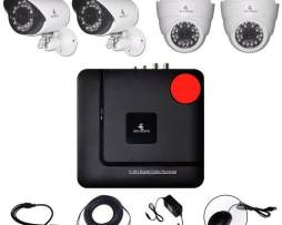 Kit Cctv Ahd Video Hd 720p Dvr Camaras Circuito Vigilancia