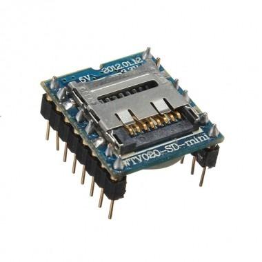 Módulo  Reproductor De Audio Mp3 Wtv020-sd