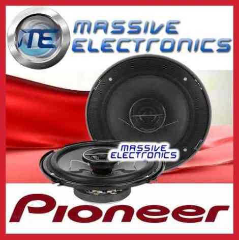 Set D Bocinas Pioneer 6.5 Ts-g1644r 250w Tweeter 2 Vias