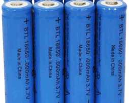 10 Baterias Brc18650 Recargables 3.7 Volts Genericas