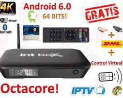 Android Tv 6.0 Box Octacore Potentisimo Ip Tv Pelis+envio