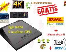 Android Tv Box Smart Tv 2gb Ram Ip Tv  Pelis+ Envio Gratis