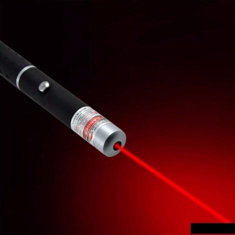 Apuntador Laser Profesional Tipo Pluma Elegante Rojo