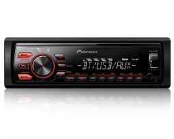 Autoestereo Pioneer Mvh-285bt Iphone Android Bluetooth New