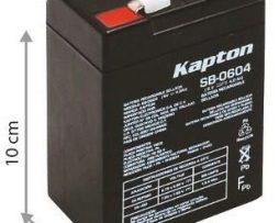 Bateria Recargable De 6v 4 Amp Kapton Envio Gratis !!!!!!!!!