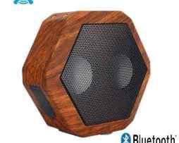 Bocina Boombotix Rex Bluetooth Unversales Imitacion Madera ^