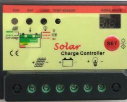 Controlador Regulador Carga 10amp Panel Solar 12/24v Bateria