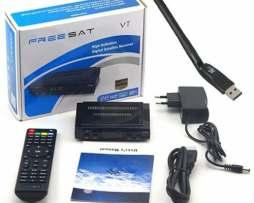 Freesat V7 1 Mes Gratis Azul