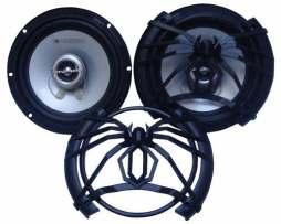 Juego De Bocinas Soundtream 6.5 Pulgadas 180w Para Auto