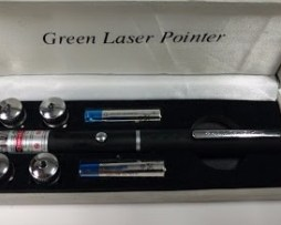 Láser Verde 50mw Visible 5 Cabezales Envio Gratis