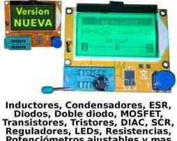 Medidor Esr Capacitores Probador De Transistores Inductores