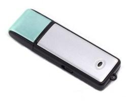 Mini Grabadora De Voz Usb 8gb C/microfono Bateria 14 Horas