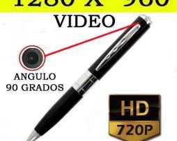 Pluma Espia Con Mini Camara Spy Hd Hasta 32gb Video Y Fotos