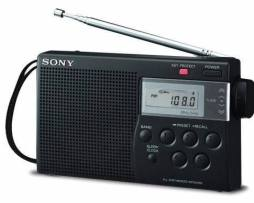 Radio Portatil Sony Am/fm M260 Digital Reloj Sleep