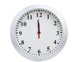 Reloj De Pared Espia Camara Hd 8gb Bateria Recargable