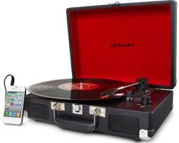 Tornamesa Crosley Tocadiscos De Vinyl Tipo Maletín Negra