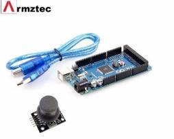 Arduino Mega 2560 R3 + Joystick Libros Gratis