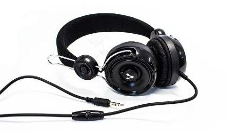 Audifonos Diadema Manos Libres Microfono Vorago Hp-205 Negro