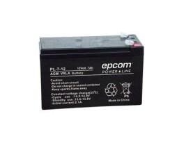Bateria Pila Recargable 12v 7ah Sellada Pl712 Epcom