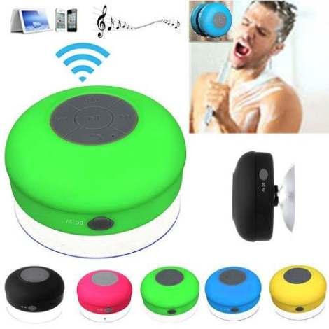 Bocina Bluetooth Contra Agua Regadera Recargable Envio Grati