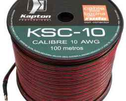 Cable Para Bocina Uso Rudo Polarizado Calibre 10 100 Mts