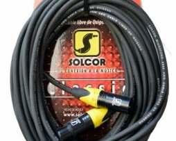 Cable Solcor Para Micrófono O Señal Xlr-xlr 5226l10 10mt