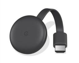 Google Chromecast Charcoal 3a Generación 2018