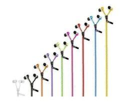 Manos Libres Audifonos Tipo Cierre Zipper Colores Plug 3.5mm