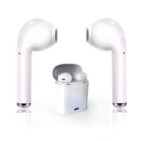 Audífonos Bluetooth Inalámbricos Estereo AirPods Con Estuche