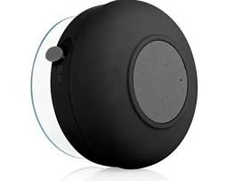 Bocina Bluetooth Recargable Contra El Agua Qb09 Negro Full
