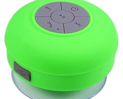 Bocina Contra Agua Bluetooth Recargable Waterprof Verde