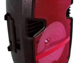 Bafles Amplificados Bocina Bluetooth 8 Pulgadas Recargable Portatil Microfono Larga Duracion Usb Auxiliar Fm Karaoke