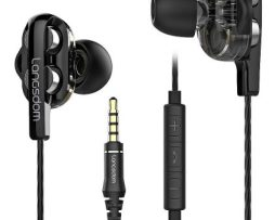 Audífonos Intraurales Langsdom D4c P/samsung/apple/huawei