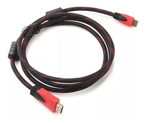 Cable Hdmi – Hdmi 1080p 1.50m -full Hd -tv -laptop Reforzado
