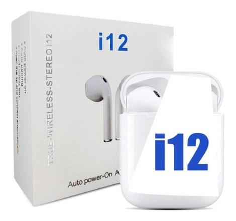Audifonos Inalambricos Bluetooth I12 Android Y Ios Estuche