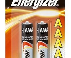 Pila Energizer Alcalina Aaaa C/2