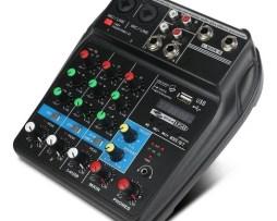 4 Canales Mezcladora Bluetooth Phantom Power Effects Webcat