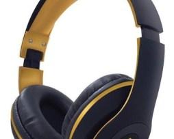 Audífonos Inalámbricos Select Sound Bth024 Dorado