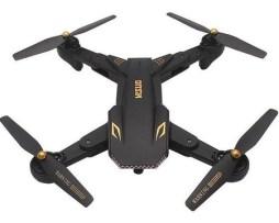 Drone Visuo Xs809s Con Cámara Hd Black
