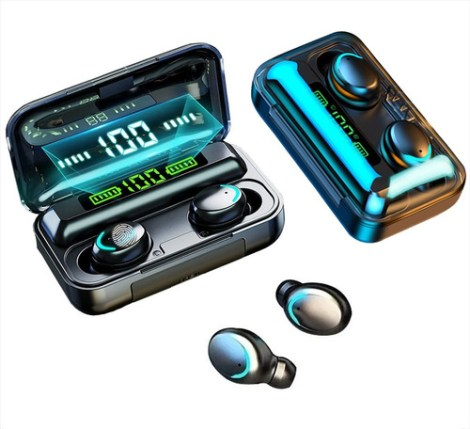 Audífonos Inalámbricos F9 8d Tws Con Bluetooth 5.0