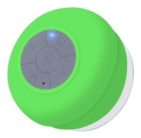 Bocina Slim Company Boc-reg-01 Portátil Con Bluetooth Verde 110v