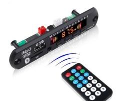 Modulo Reproductor De Audio Bluetooth Usb Sd Fm Auxiliar