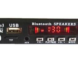 Modulo Bluetooth 5.0 Reproductor Audio  Mp3 Usb 12v Aux Msd