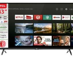 Smart Tv Tcl Serie A4 43a423 Led 4k 43  110v