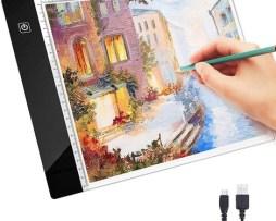 Tableta De Dibujo Amyty Portátil Tamaño A4 Con Luz