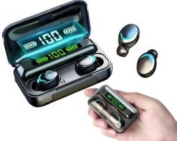 Audífonos Bluetooth 5.0 F9-5 Deportivos Pantalla Led Táctil
