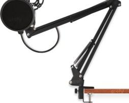 Archy Soporte Base Microfono Brazo Flexible Pinza Clip Mesa