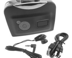 Convertidor De Cintas Cassette A Mp3 Adaptador Usb