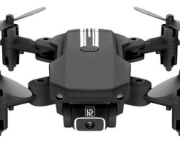 Mini Drone Lansenxi Ls-min Con Cámara 4k Negro